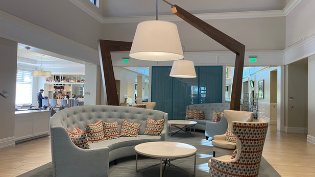 Lobby at Ibis Country Club