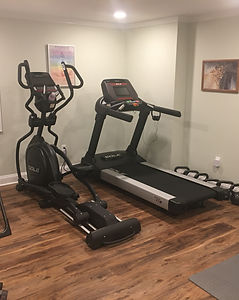 Exercise equipment diff view