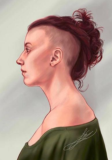 lindsayvanek self portrait