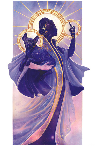 OUR HEAVENLY SPACE MOM