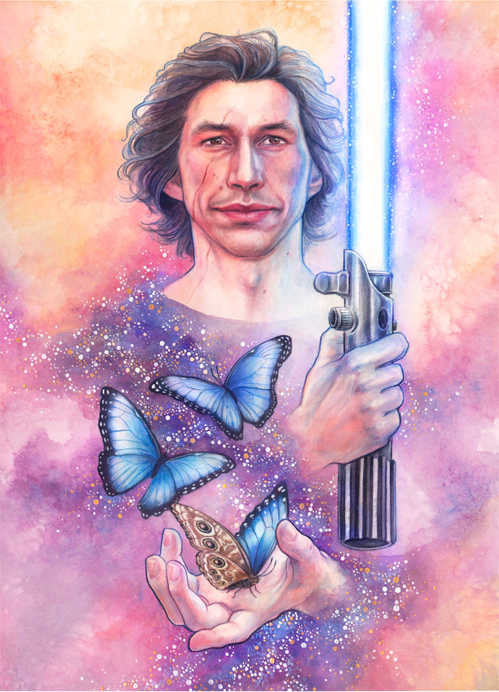 RISE: BEN SOLO TRIBUTE PORTRAIT