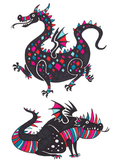 SILLY DRAGONS