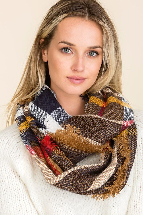 Wind Chill Scarf - Khaki Mix