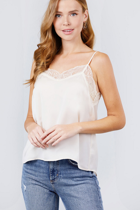 Lacey Mae Top - Cream