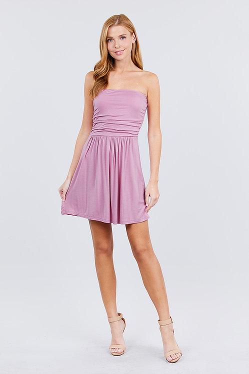 Bora Bora Mini Dress - Mauve