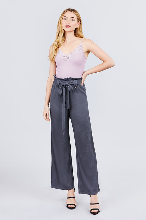 The Current Obsession Pants - Grey