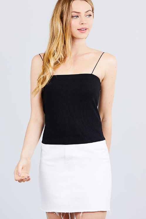 Simply Living Crop Top - Black