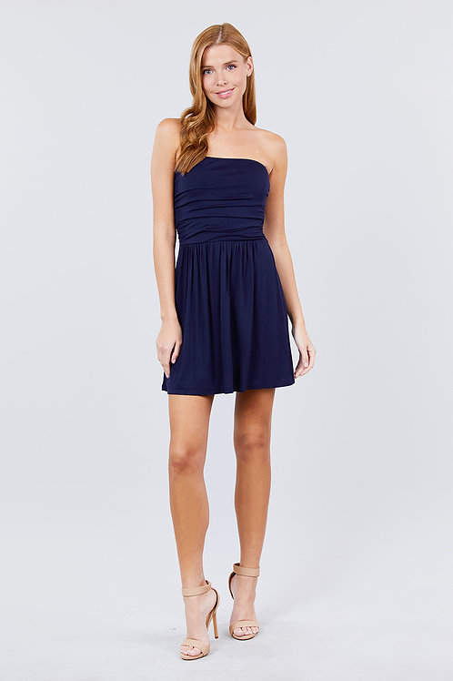 Bora Bora Mini Dress - Navy