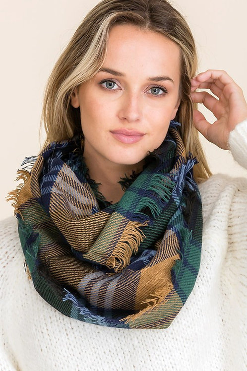 My Favorite Tradition Scarf - Forest Green Mix