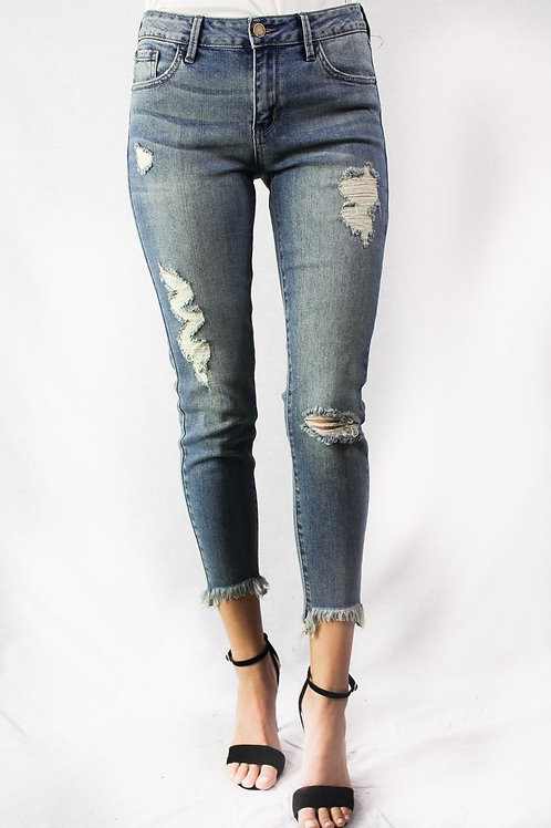 On The Edge Ripped Denim