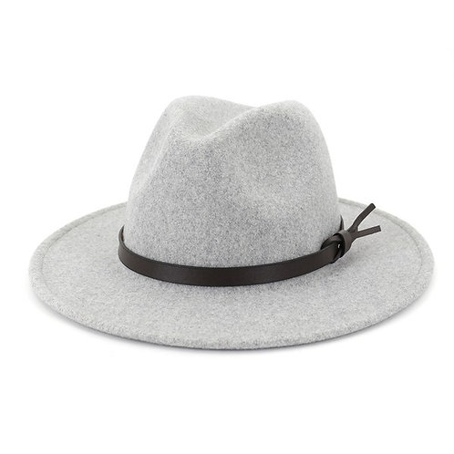 The Soho Hat - Light Grey
