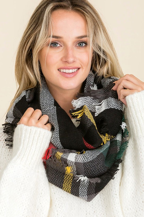 Wind Chill Scarf - Black Mix