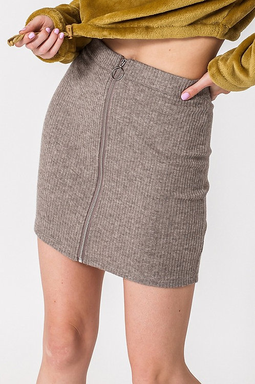 Cut To The Chase Skirt