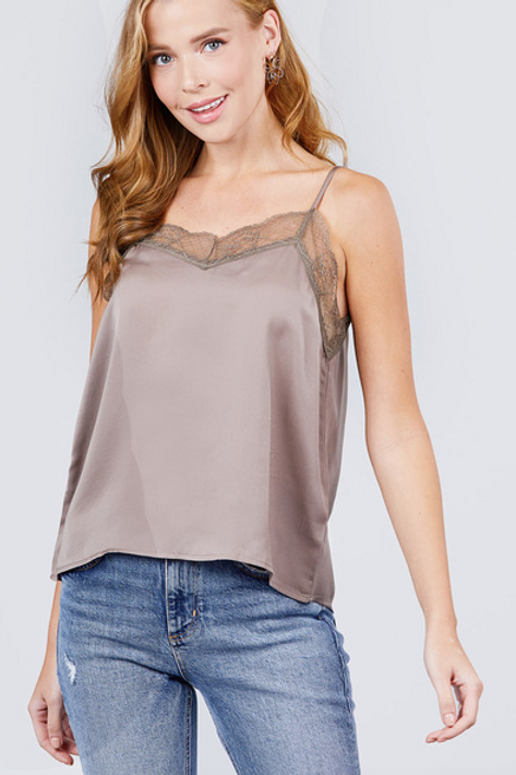 Lacey Mae Top - Mink