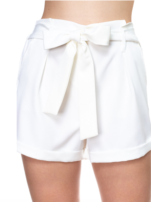 You Have My Attention Shorts -Off White