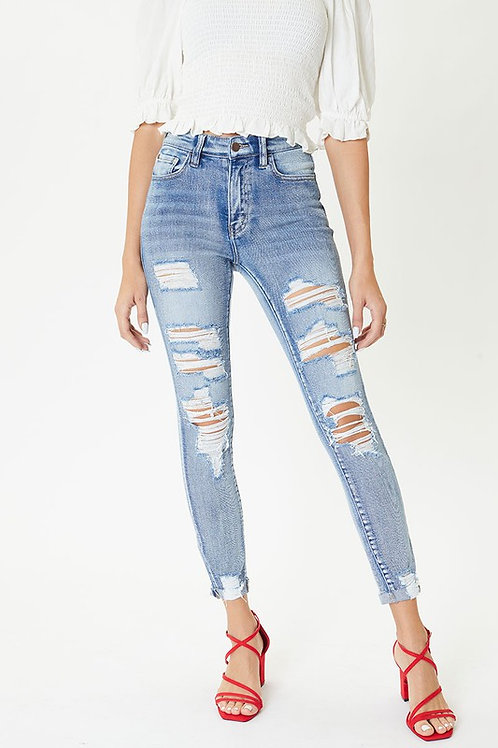 The West Coast Distressed Jeans