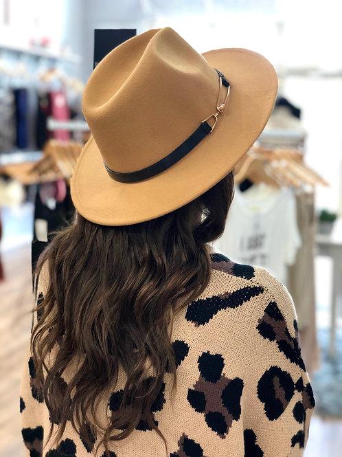 A Classic Dream Panama Hat -  Khaki