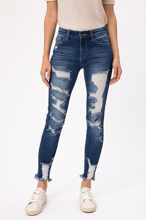 The Cutting Edge Jeans - Dark Wash