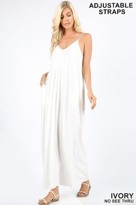 Sweetheart Maxi Dress - Ivory