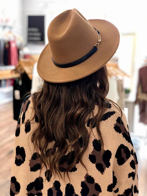 A Classic Dream Panama Hat - Coffee