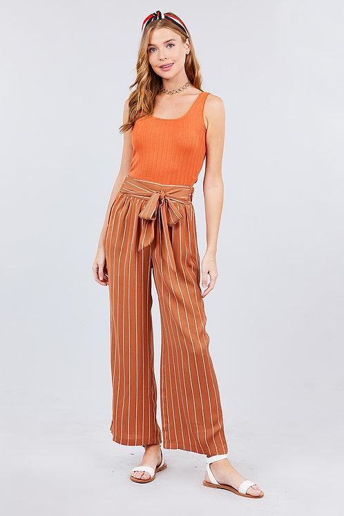 Dream Maker Dress Pants - Rust