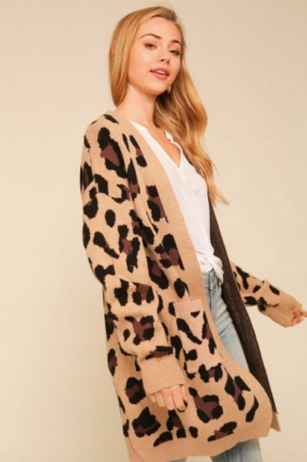 Leopard Dreams Cardigan