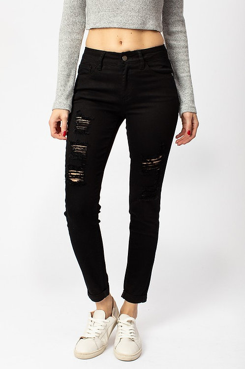 On Edge Distressed Jeans