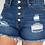 Thumbnail: Mom Jean Denim Shorts