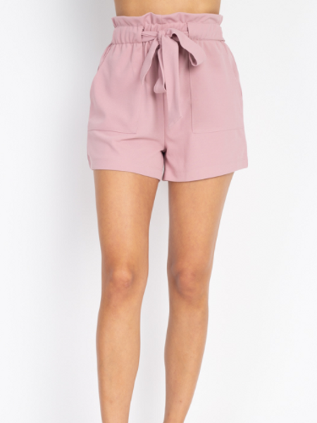Good Times Roll Shorts - Mauve