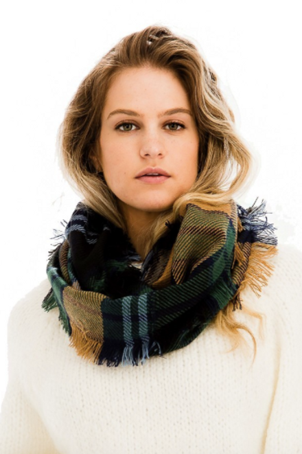 Wind Chill Scarf - Hunter Green