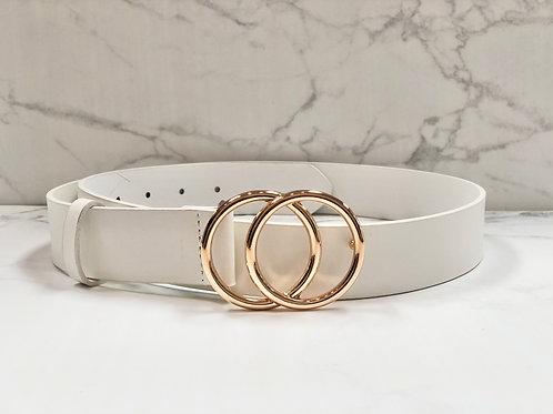 Trend Setter Belt - White