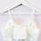 Thumbnail: Daphne Lace Bralette - White