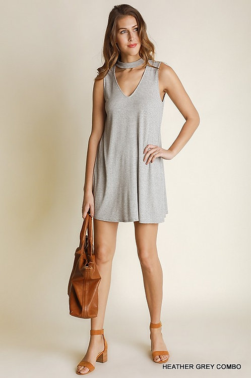 Skies Are Grey Shift Dress