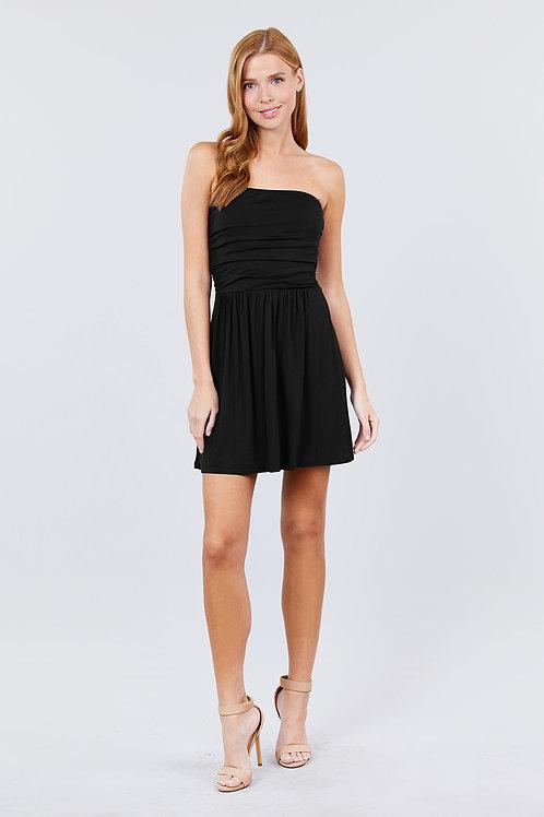Bora Bora Mini Dress - Black