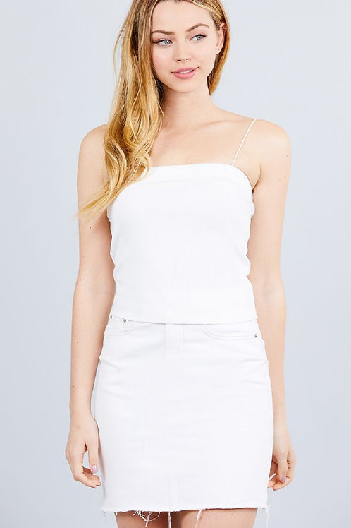 Simply Living Crop Top - White
