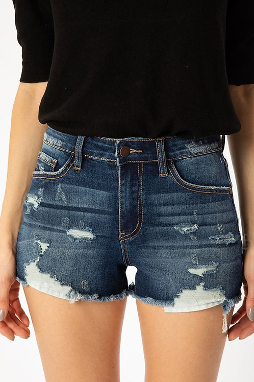 The Outer Banks Shorts - Dark Wash