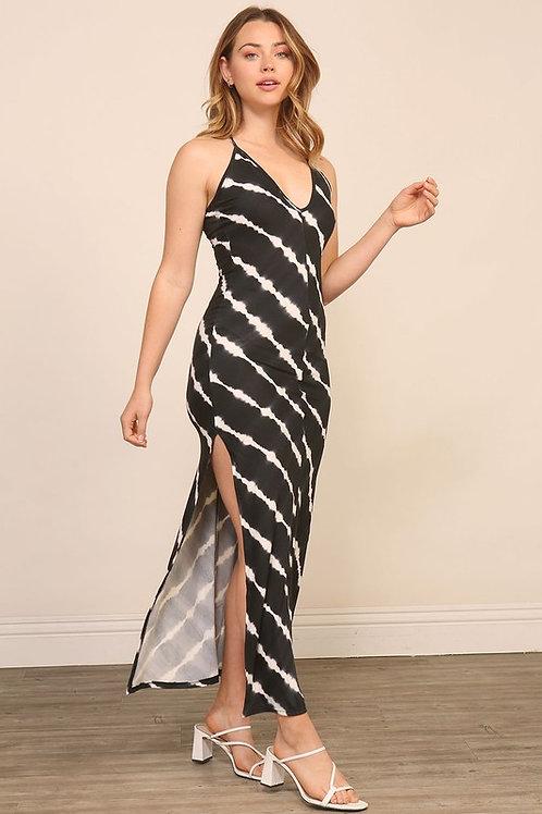 Black Sky Maxi Dress