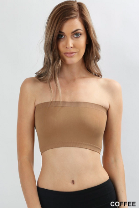 Still The One Bandeau - Camel