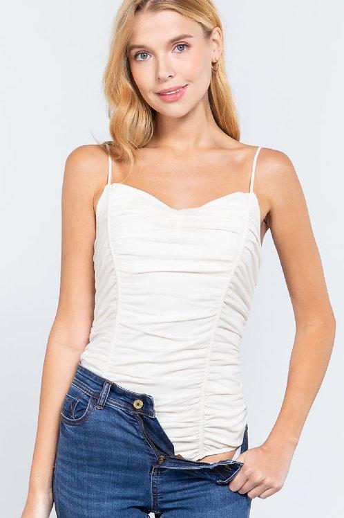 Summer Melody Bodysuit - Cream