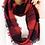 Thumbnail: Check Mate Scarf - Red/Black