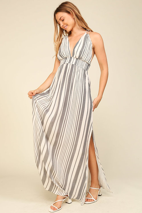 The Stripe Is Right Maxi Dress