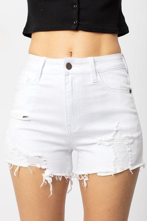 Irreplaceable Love Denim Shorts