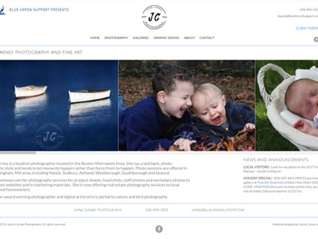 New JC Photography website launched!