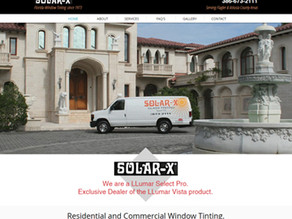 Blue Heron Launches New Website for Solar-X in Ormond Beach, FL!
