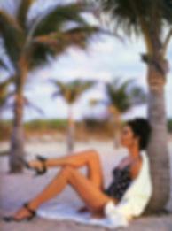 Roxanne Gould in Greek Vogue