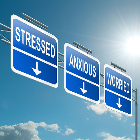 Individual counseling for stress and anxiety