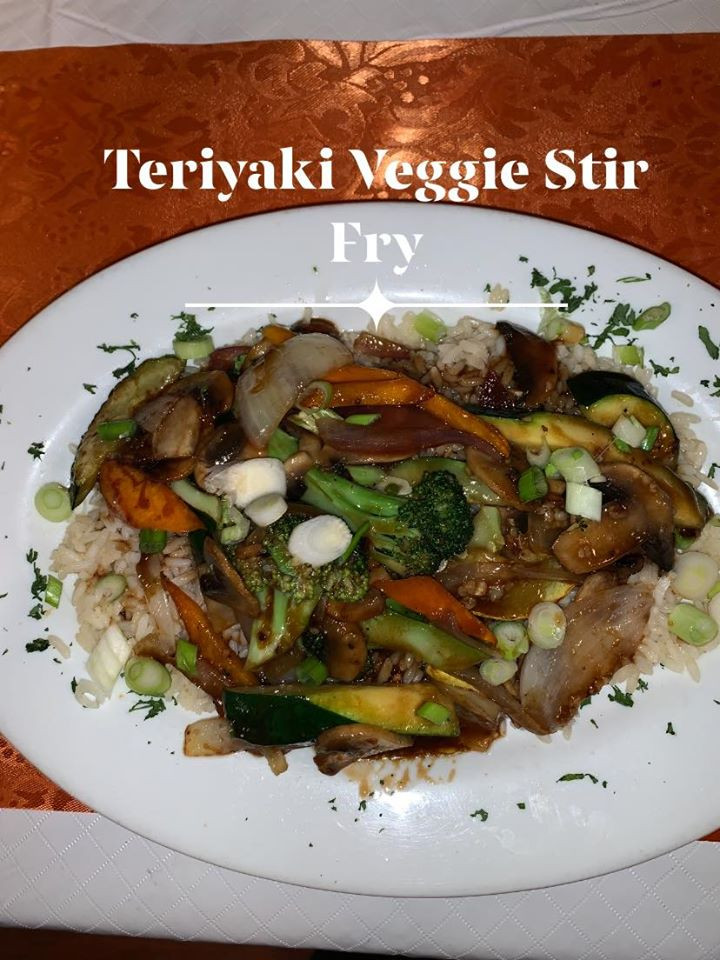Teriaki Veggie Stir Fry