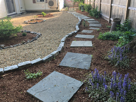Stone Garden Area
