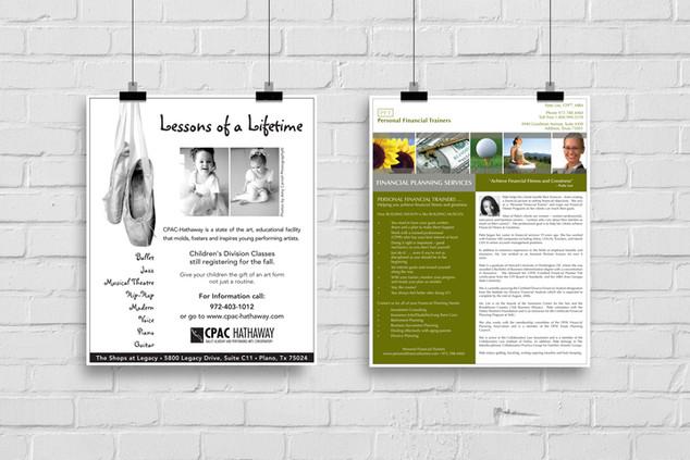 custom flyers