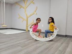 Open play kids play space